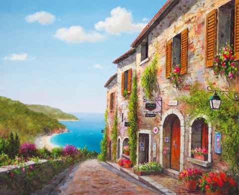 Sunny Afternoon by  Soon Ju Choi  - Masterpiece Online