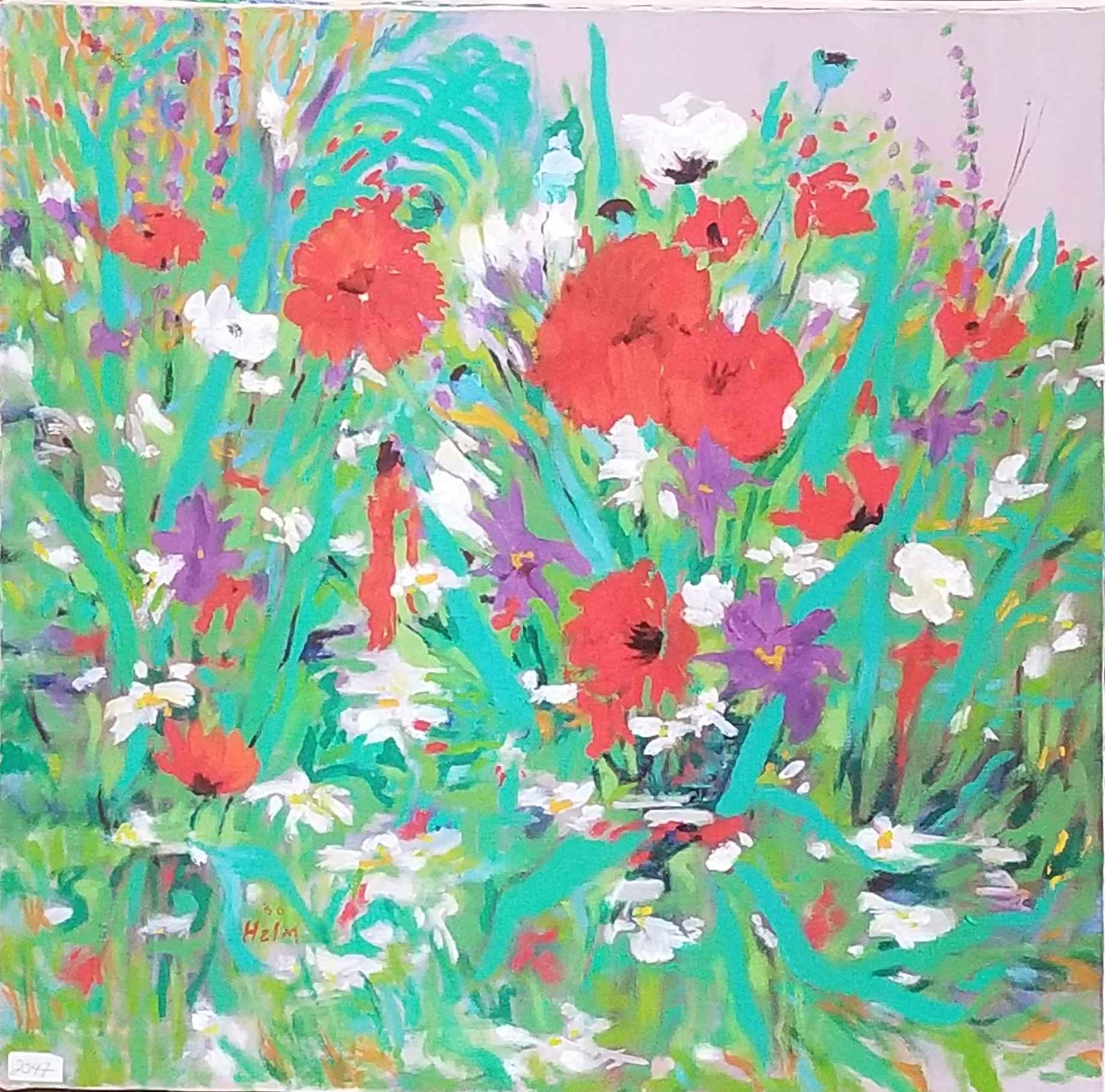 Garden's Edge Floral ... by  Mary Theisen - Helm - Masterpiece Online