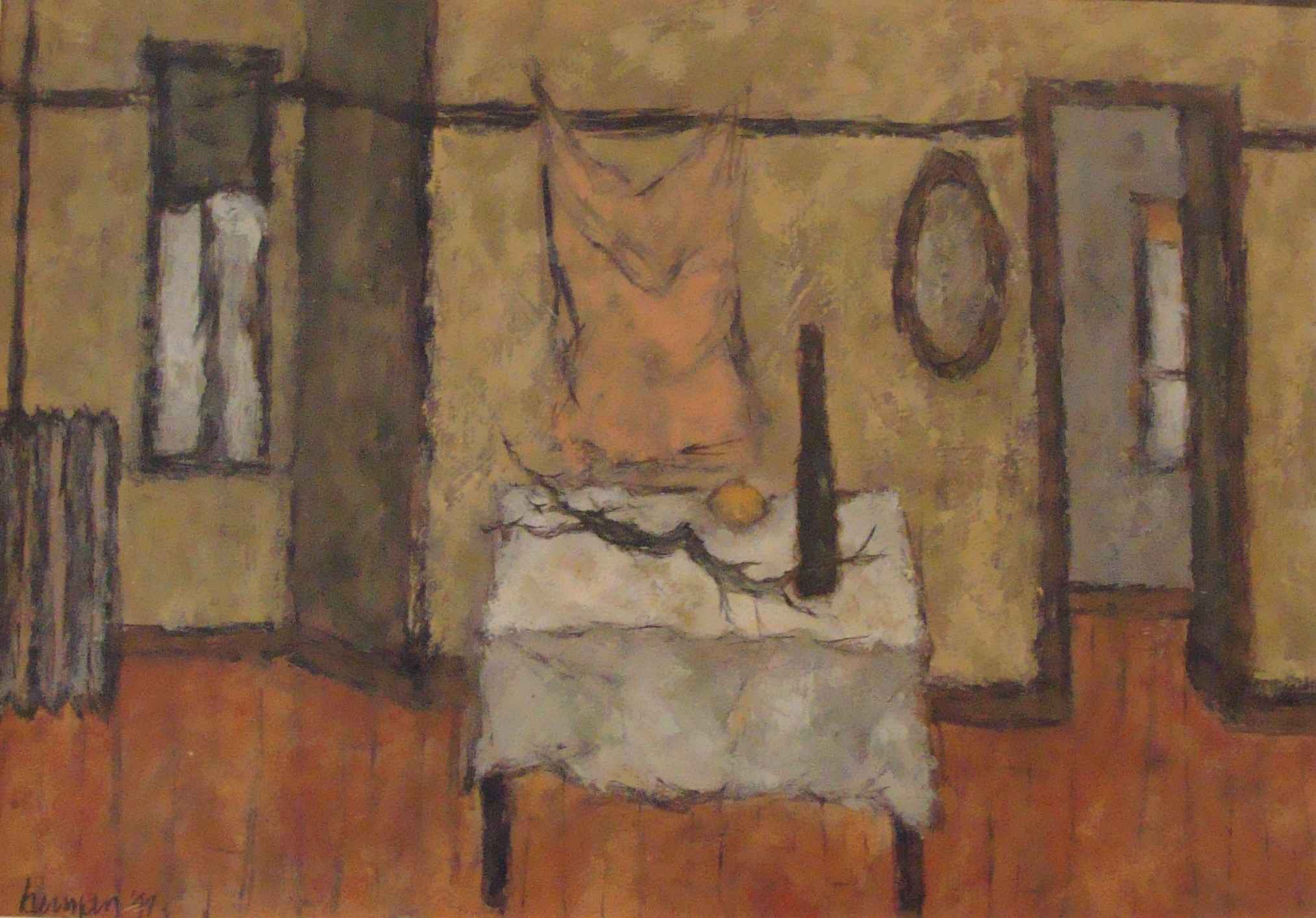 Interior with Still L... by Mr. Fred Berman - Masterpiece Online