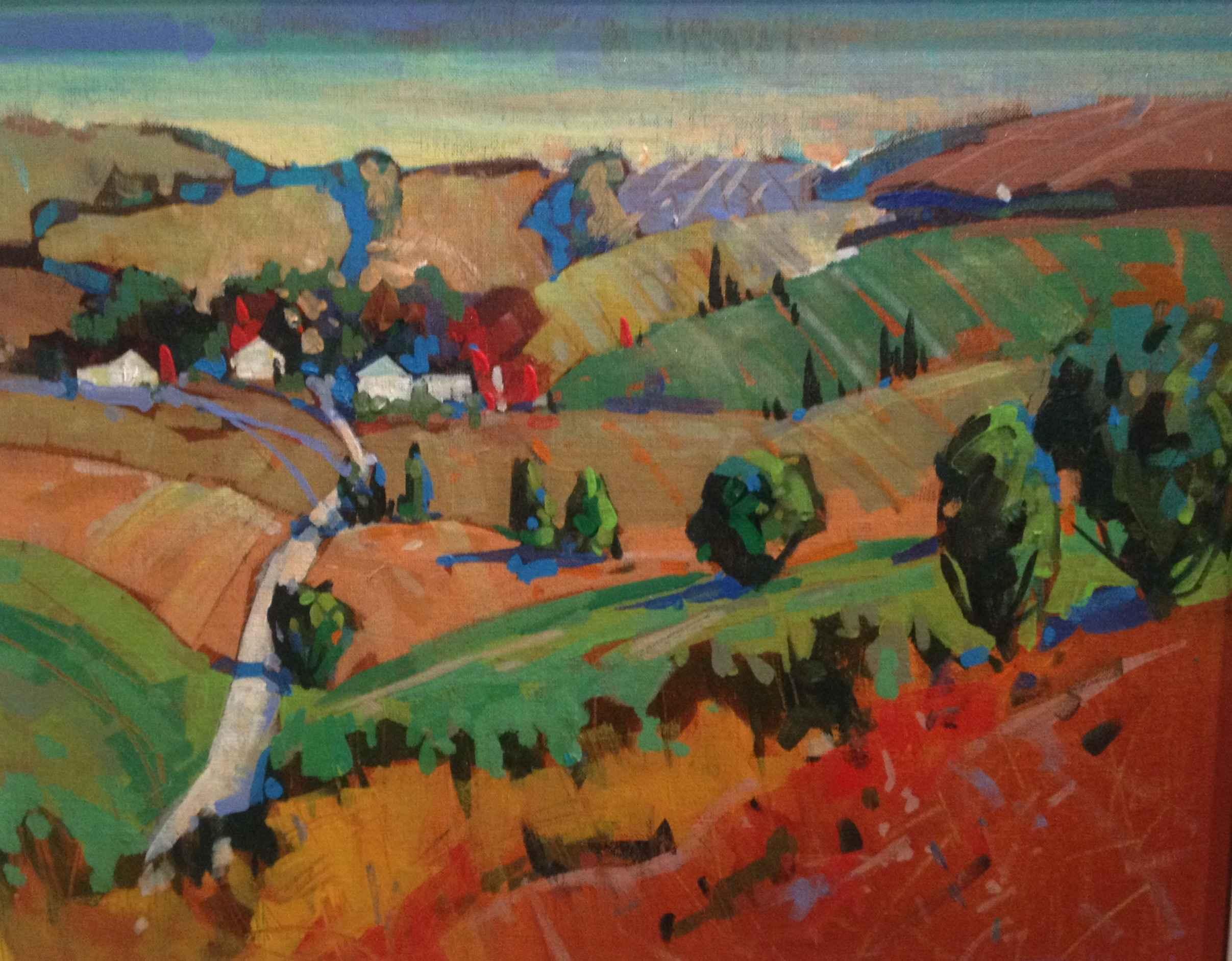 Road Below by  Brian Buckrell - Masterpiece Online