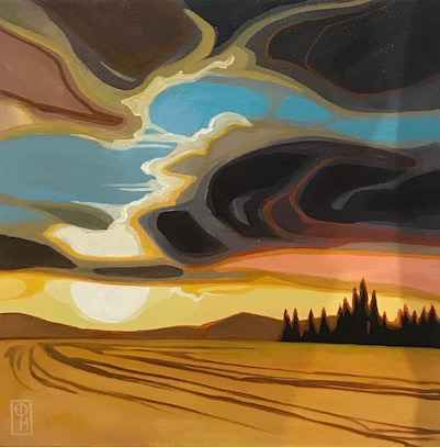 Clouds of Wonder by  Erica Hawkes - Masterpiece Online