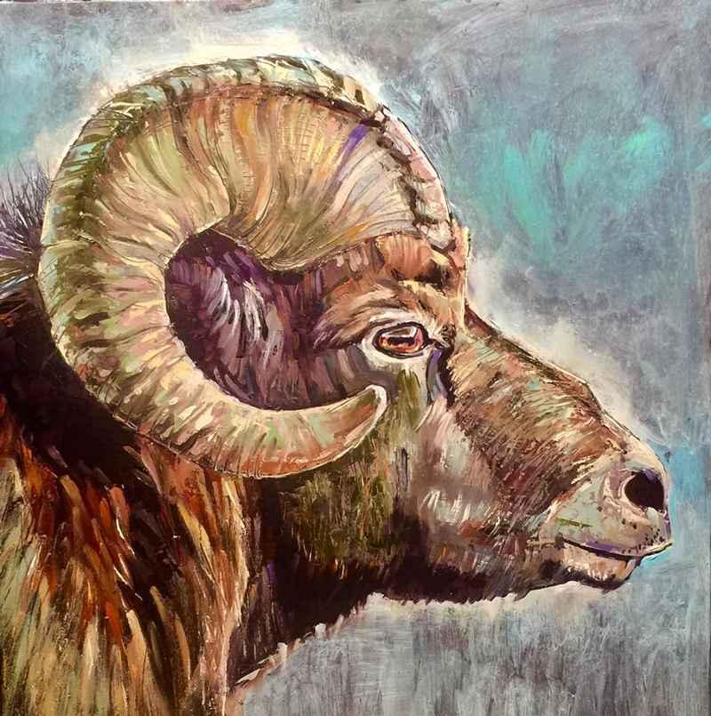 Sheep Gaze by  David Volsic - Masterpiece Online