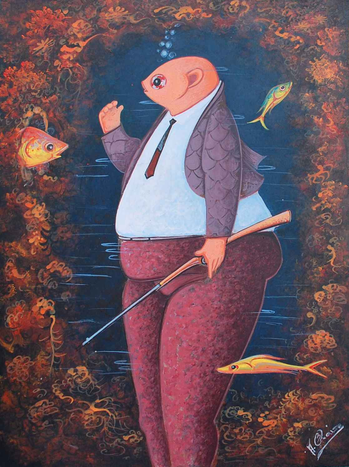 Hunting Day by  Andre BLAISE - Masterpiece Online