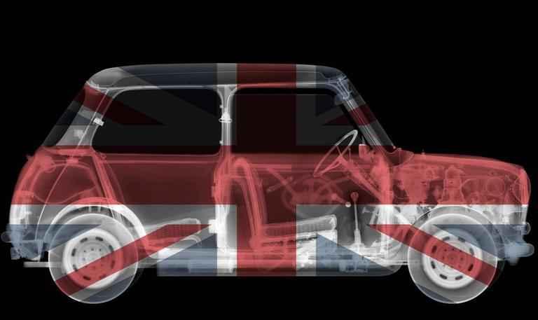 Union Jack Mini by  Nick Veasey - Masterpiece Online