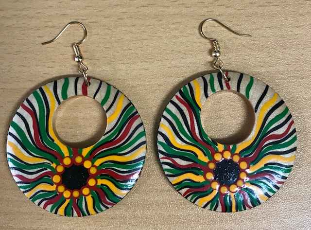 Natural Wood Reggae E... by Ms Irene Bowyer - Masterpiece Online