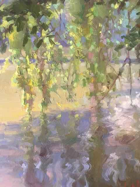 Willow Reflecting by  Chuck Marshall - Masterpiece Online