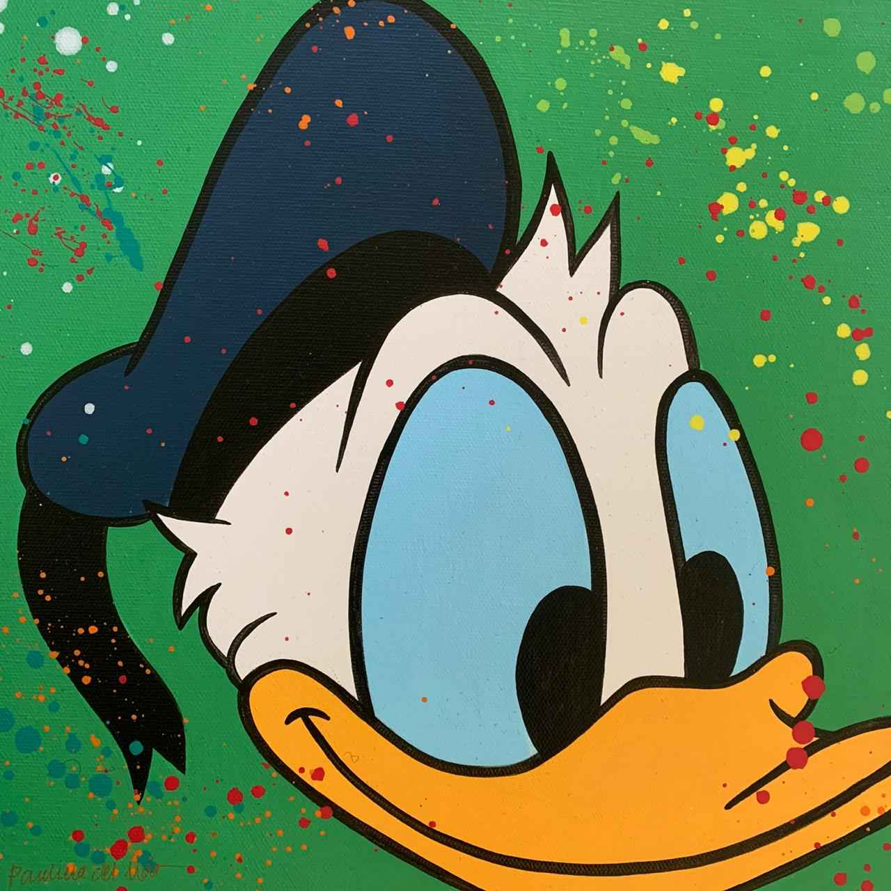 Donald in Green