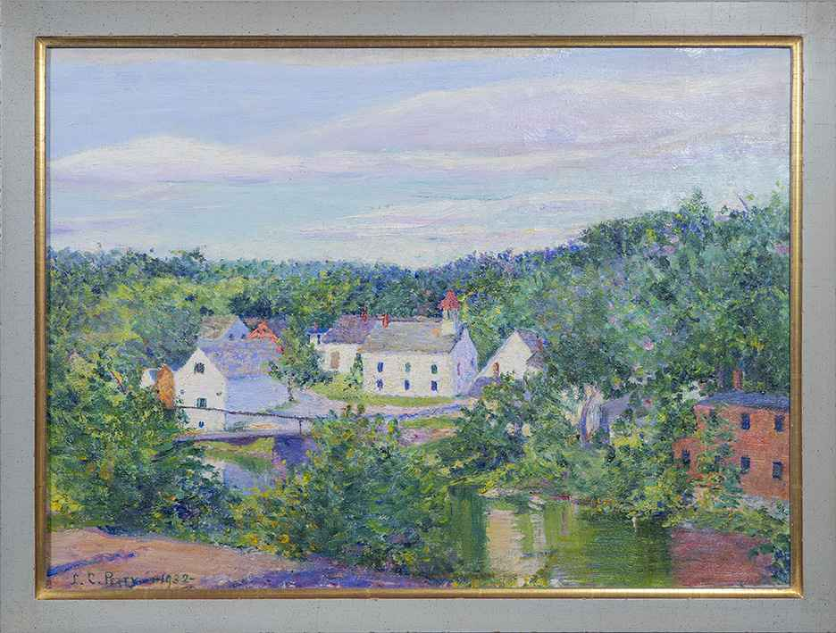 Cottages, Spring by Lilla Cabot Perry