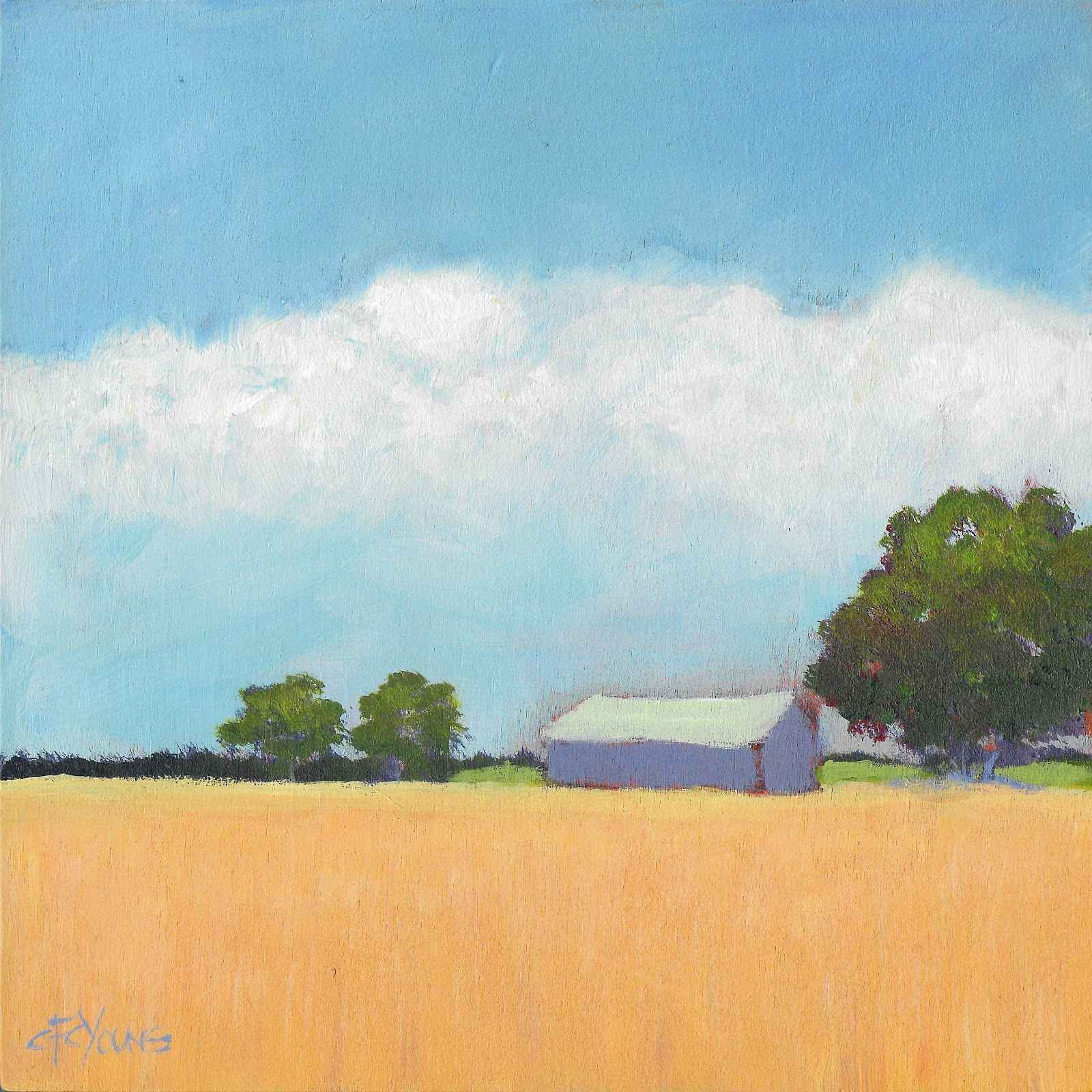 Golden Fields  by  Carol Young