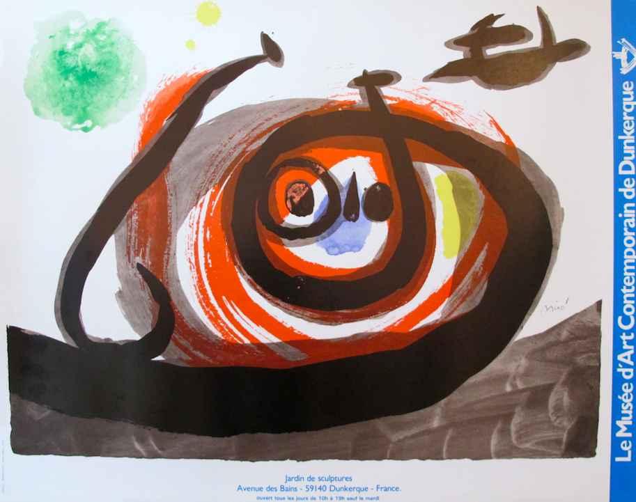 Exhibition - Le Musée... by  Joan Miro - Masterpiece Online