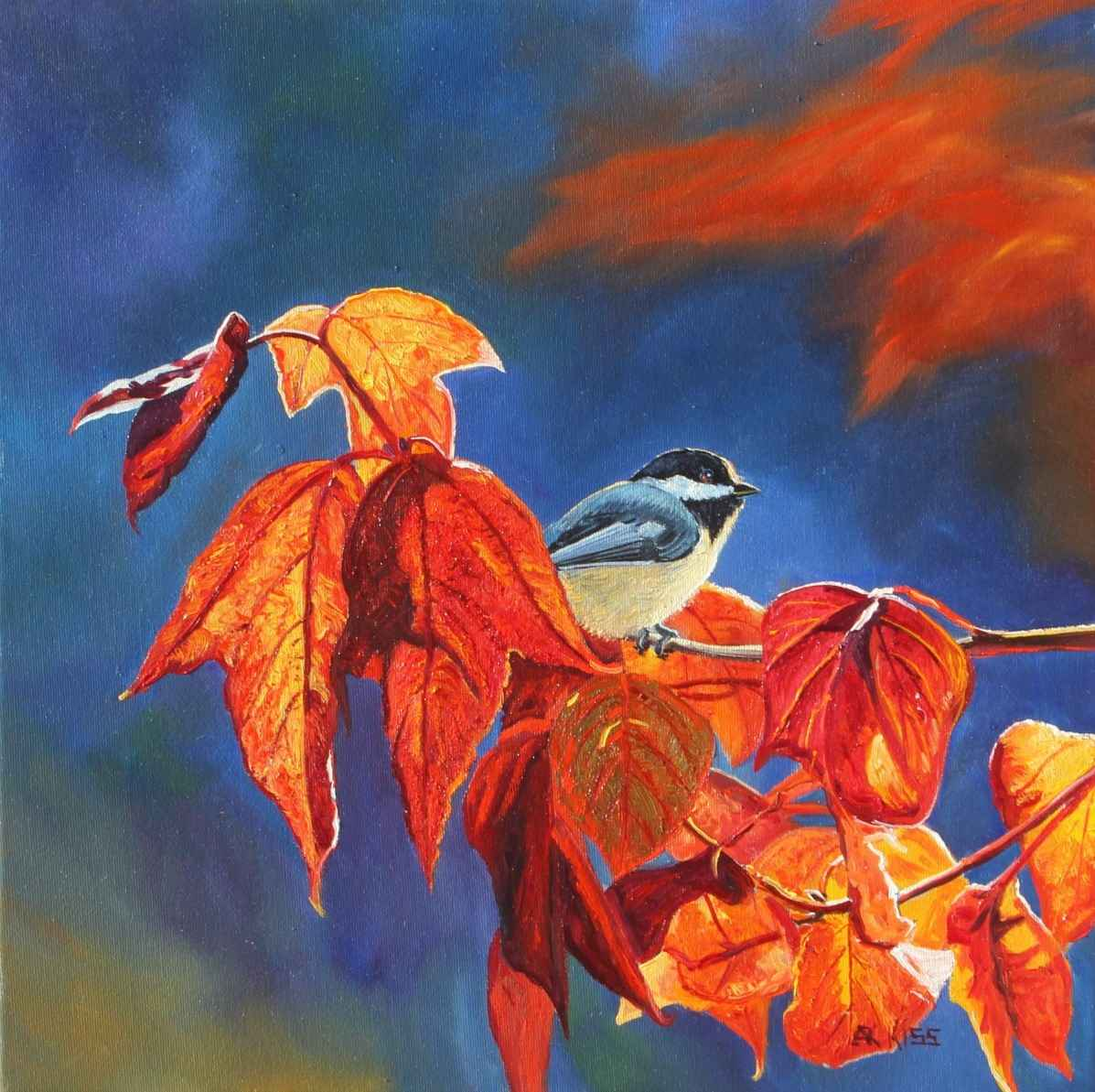 Chickadee Series-11102 by  Andrew Kiss - Masterpiece Online