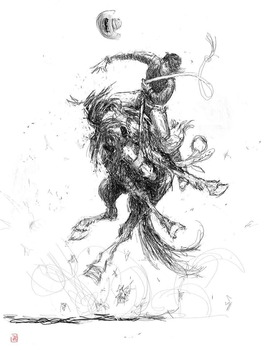 This Bodes Ill AL by Mr. & Mrs. Jim Rey - Masterpiece Online