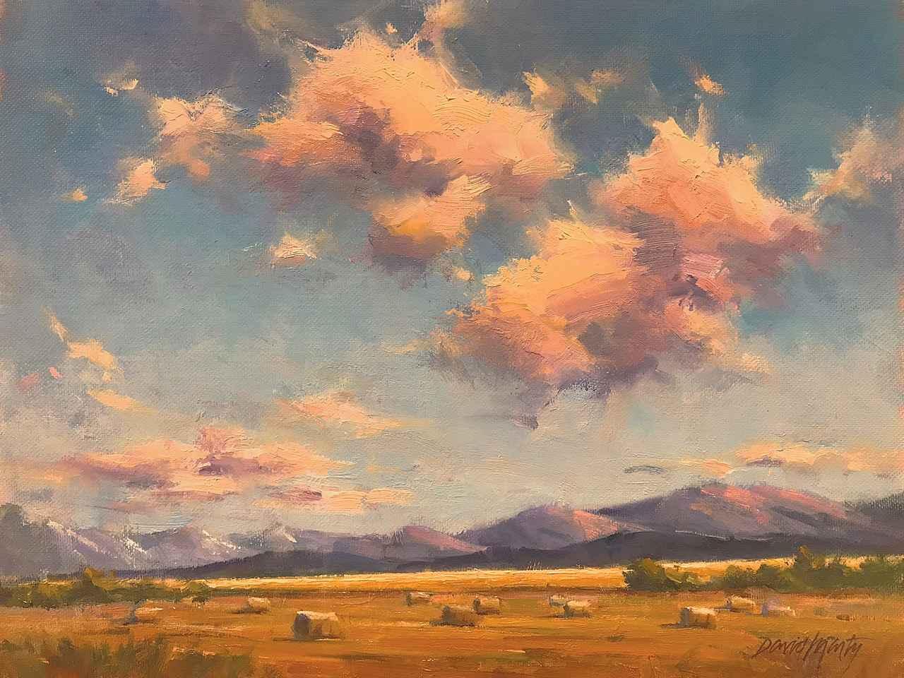 Harvest Sky by  David Marty - Masterpiece Online