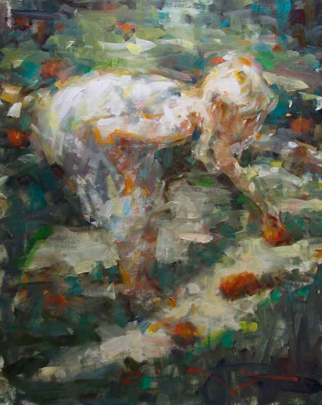 Gathering Apples by Mr. Kevin Beilfuss - Masterpiece Online
