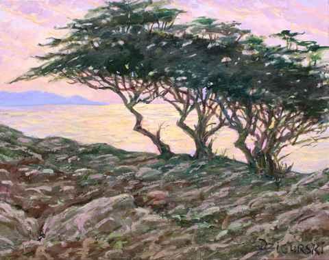 Cypress Shimmering, C... by  A Dzigurski II - Masterpiece Online