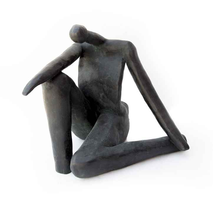Contemplating Woman  ... by  Helen Post - Masterpiece Online