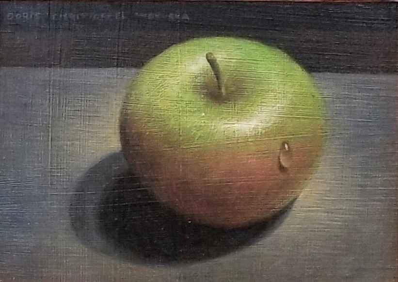 Untitled (Green Apple) by Ms. Doris Wokurka - Masterpiece Online