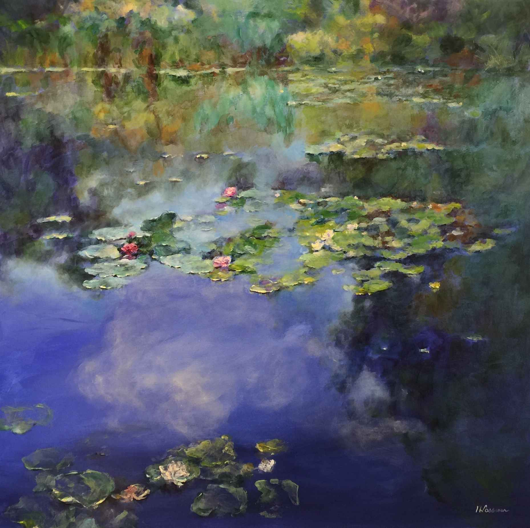 Tranquil Reflections by  Nadia Lassman - Masterpiece Online