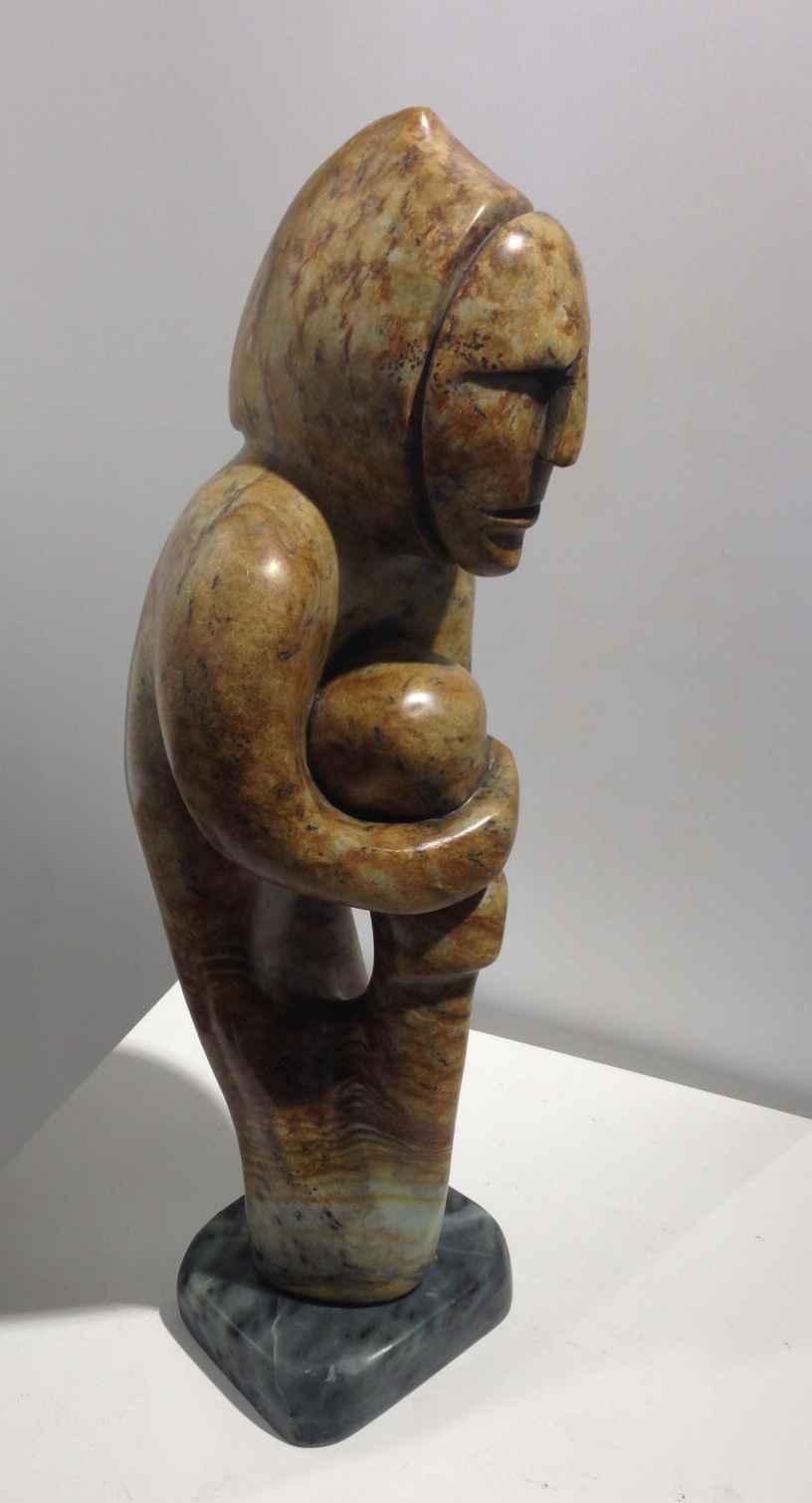 Shaman with Apprentice by  Abraham Anghik Ruben - Masterpiece Online