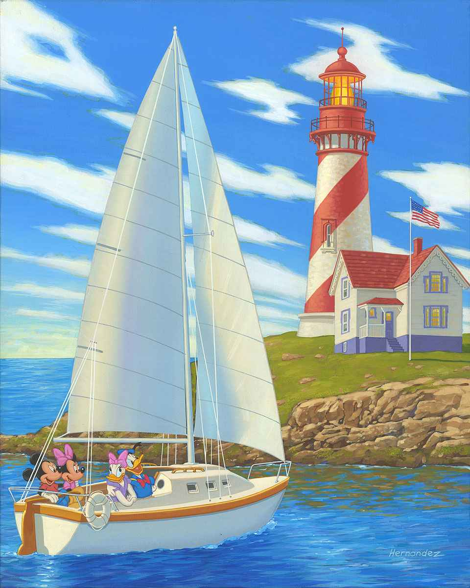 Lighthouse Point by  Manuel Hernandez - Masterpiece Online