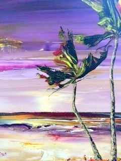 Caribbean Sea by Ms. Jean Blades - Masterpiece Online