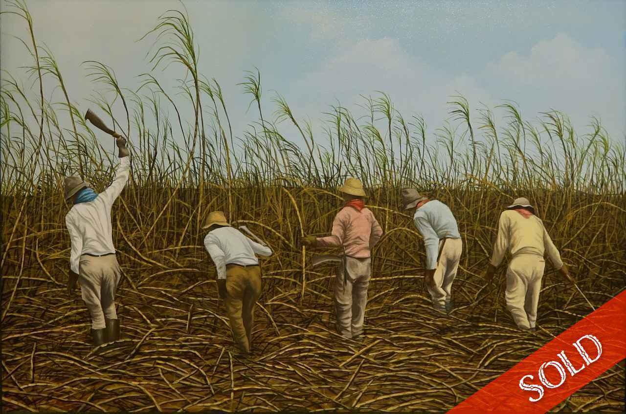 Cane Cutters by Mr. Harry Wishard - Masterpiece Online