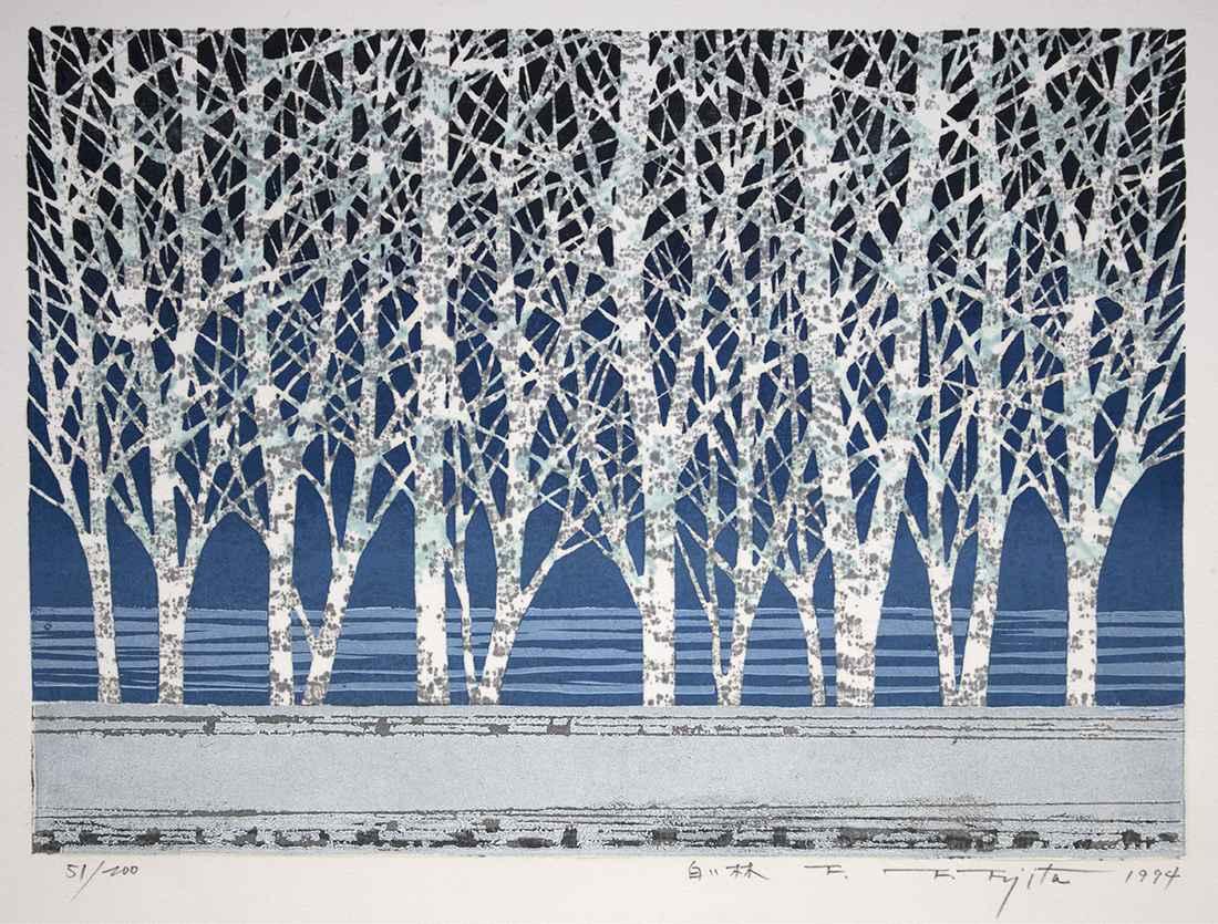 White Forest-F by  Fumio Fujita - Masterpiece Online