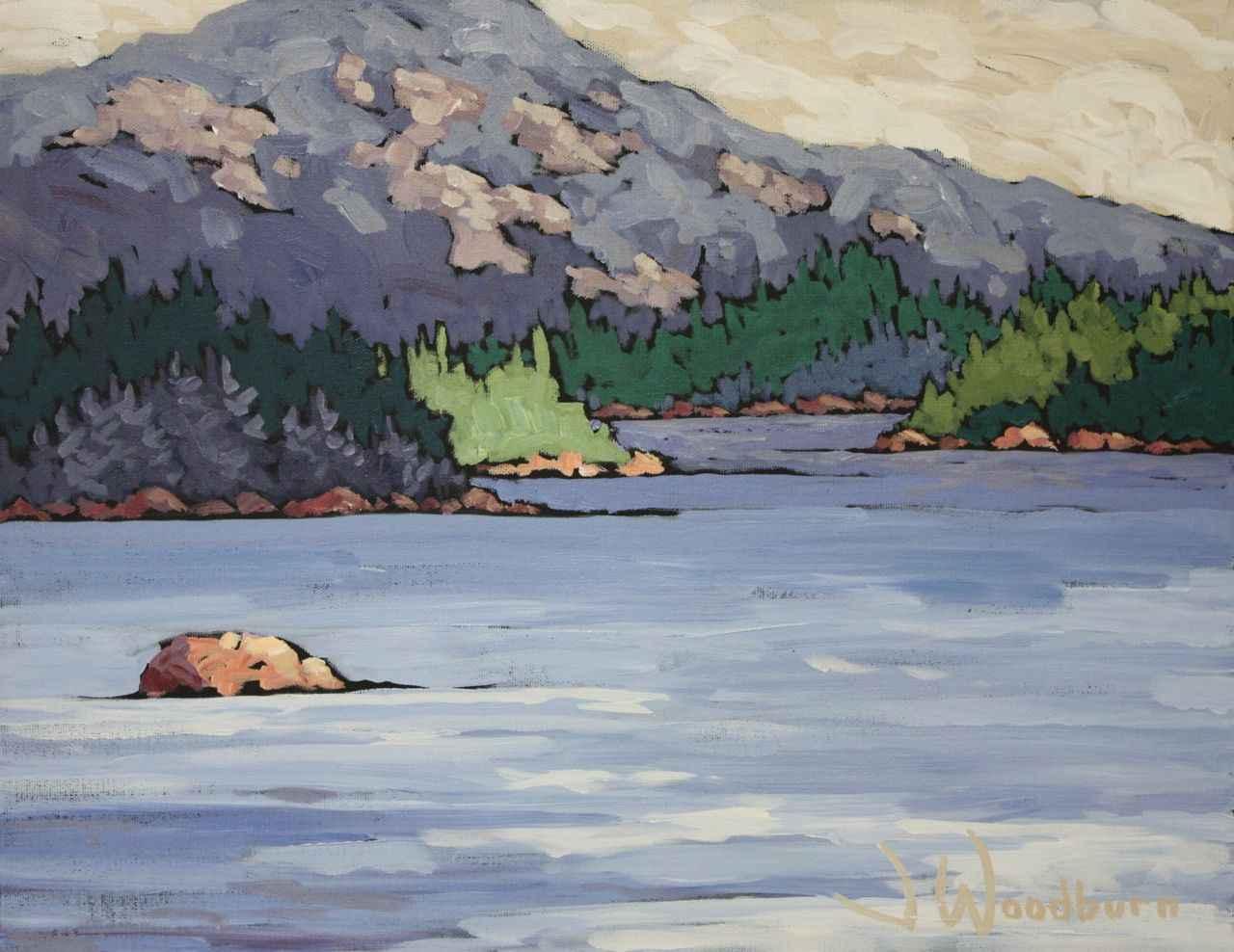 La Cloche Mountains by Ms Jennifer Woodburn - Masterpiece Online