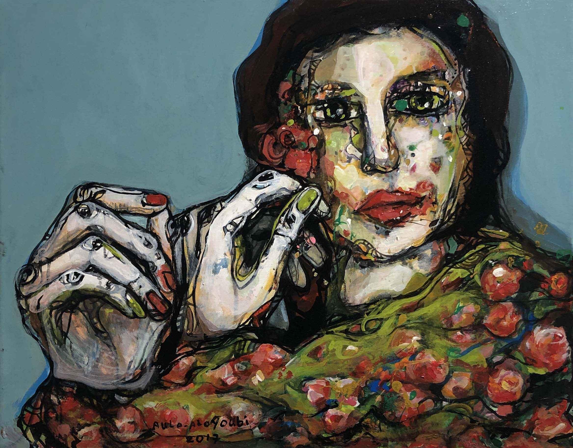 Bound Dancer #2 by  Aula Alayoubi - Masterpiece Online