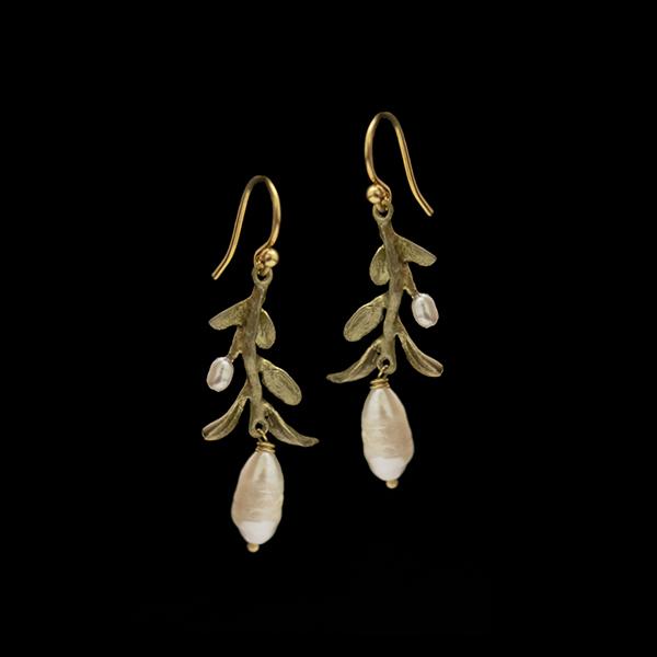Victorian Vine Wire Earrings