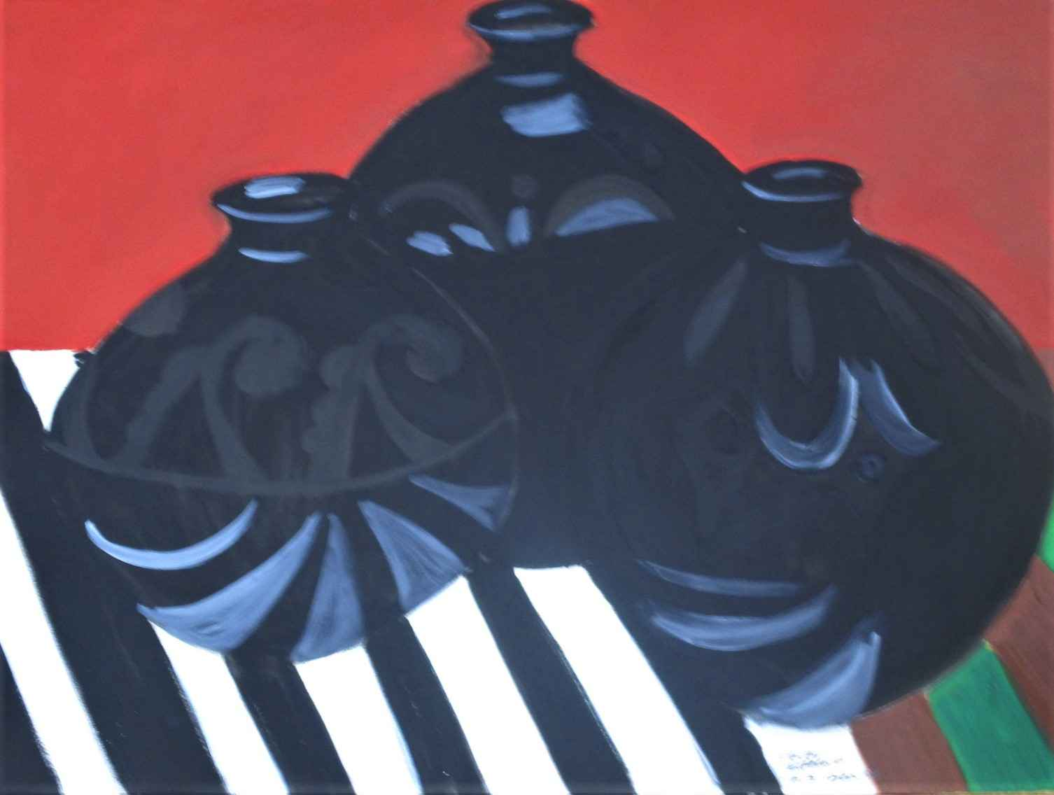 Untitled ( 3 black po... by  Shirley Gittelsohn - Masterpiece Online