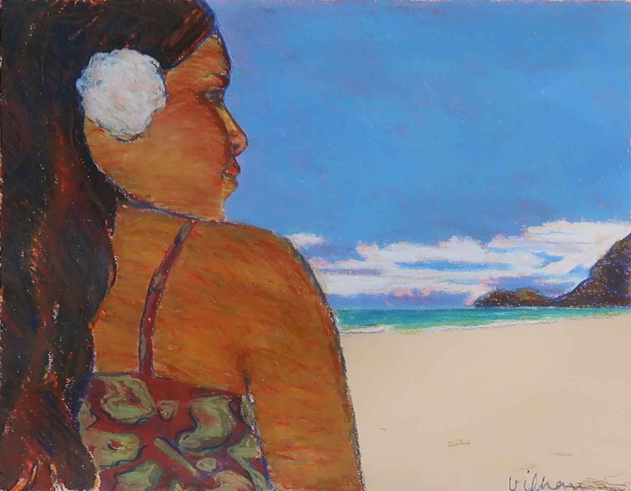 Waimanalo Day by  Nancy Vilhauer - Masterpiece Online