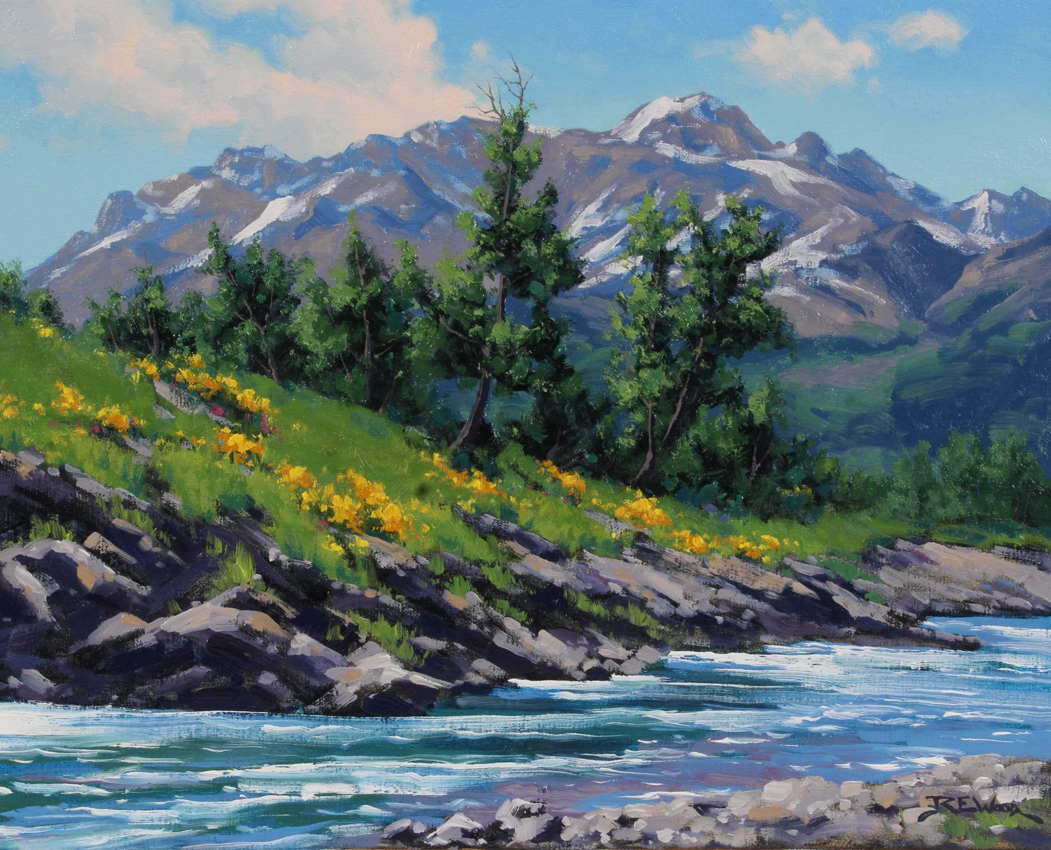 Afternoon at Pass Cre... by  Robert E. Wood - Masterpiece Online