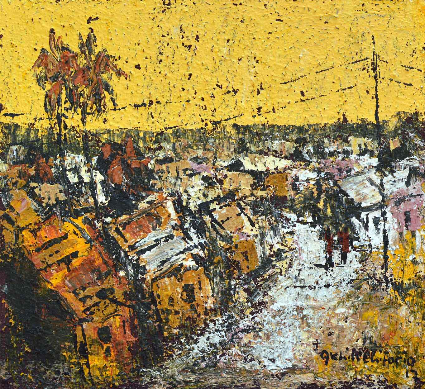 Memory Impression II by Mr Akhile Ehiforia - Masterpiece Online