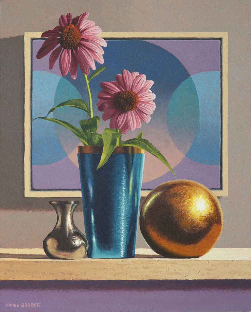 Intersecting Circles by  James Borger - Masterpiece Online