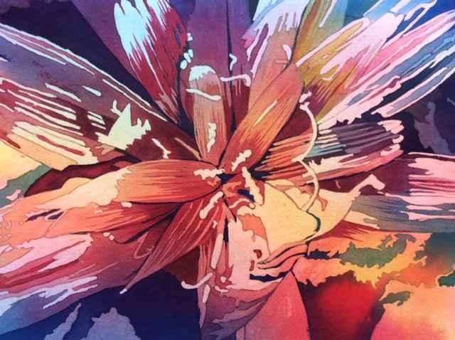 White Flower Gone Wild by  Mary Bubla - Masterpiece Online
