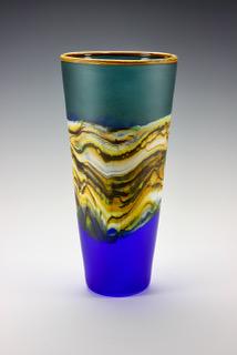 Cone in Sage Cobalt
