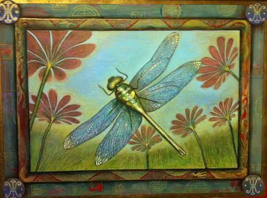 Dragonfly  by  Matthew Smith