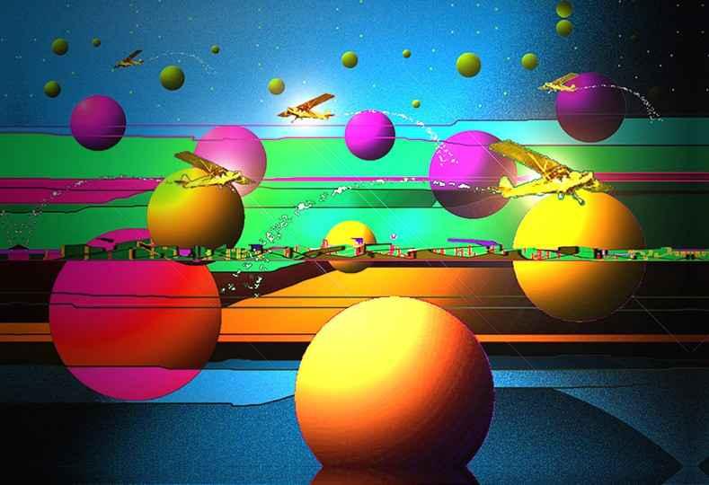 Traffic Jam 2020 by  David Burslem - Masterpiece Online