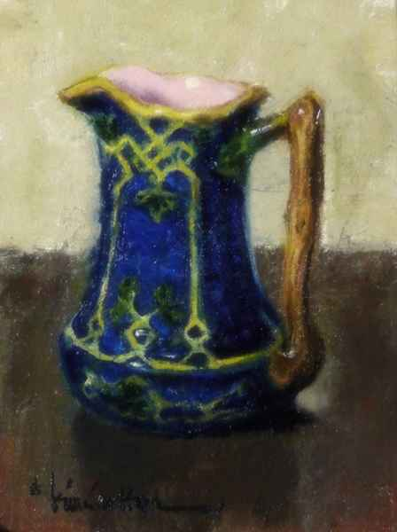 Blue with Pink by  Kim Carlton - Masterpiece Online