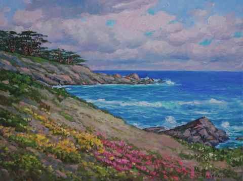 Pt. Lobos Spring by  A Dzigurski II - Masterpiece Online