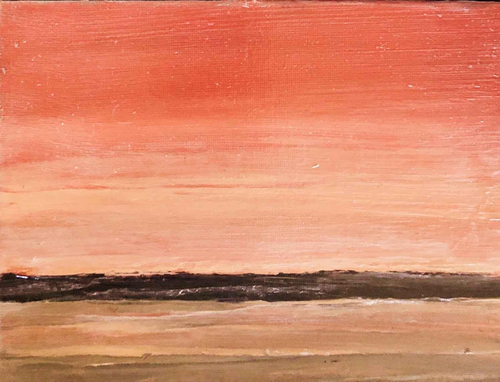 Noroton Bay Sunset  by  Lisa Thoren 2018