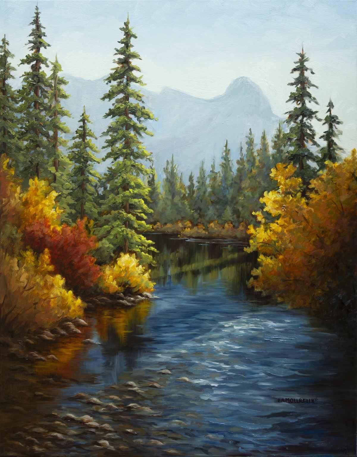 Policeman's Creek by  Julie Lamoureux - Masterpiece Online