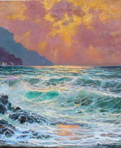 The Golden Hour by  A Dzigurski II - Masterpiece Online
