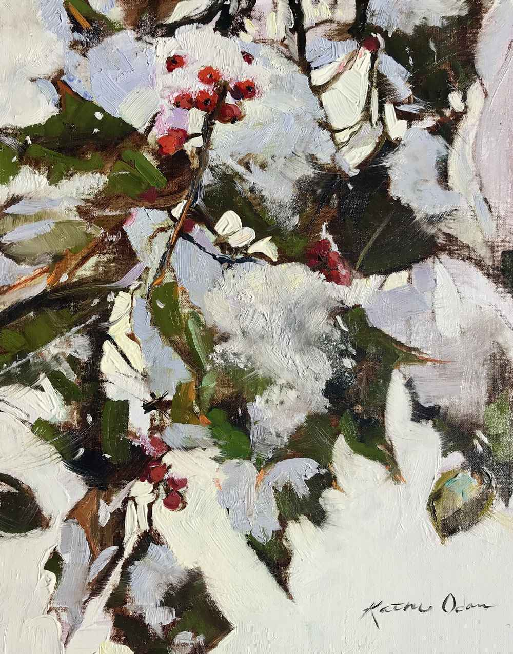 Berry Cozy  by  Kathie Odom