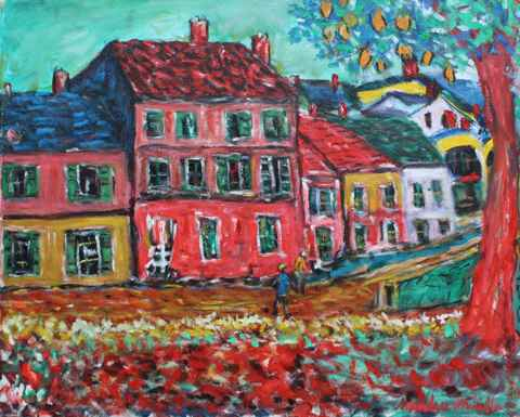 Village in France by  Andres  Morillo - Masterpiece Online