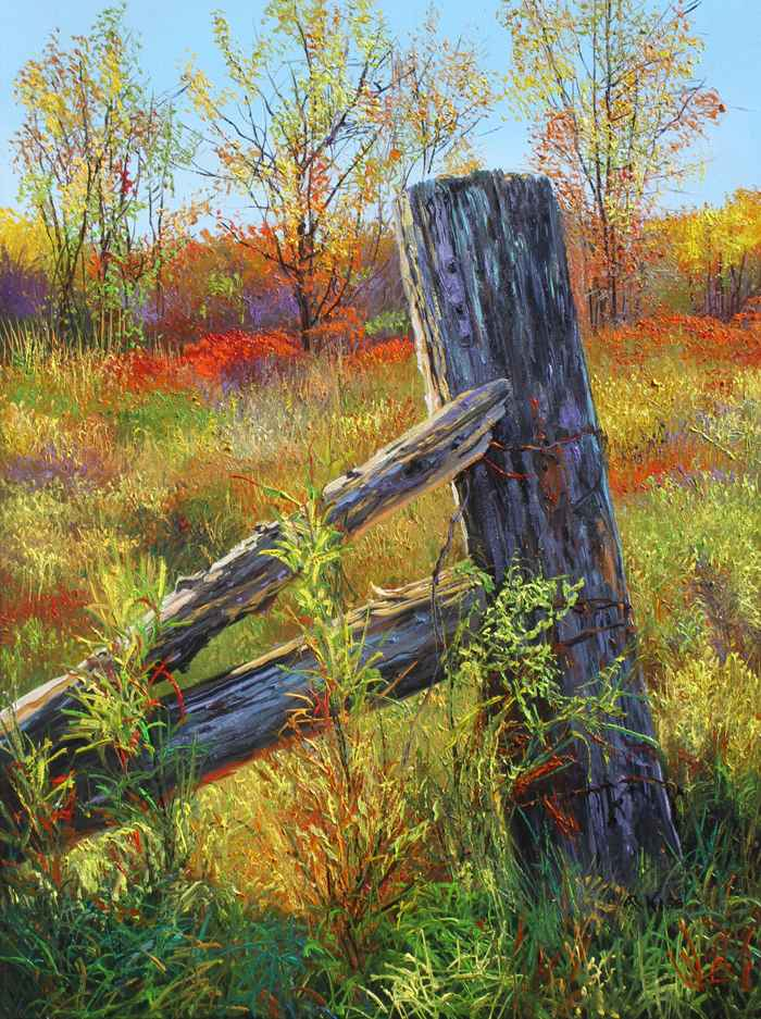 Old Gate by  Andrew Kiss - Masterpiece Online