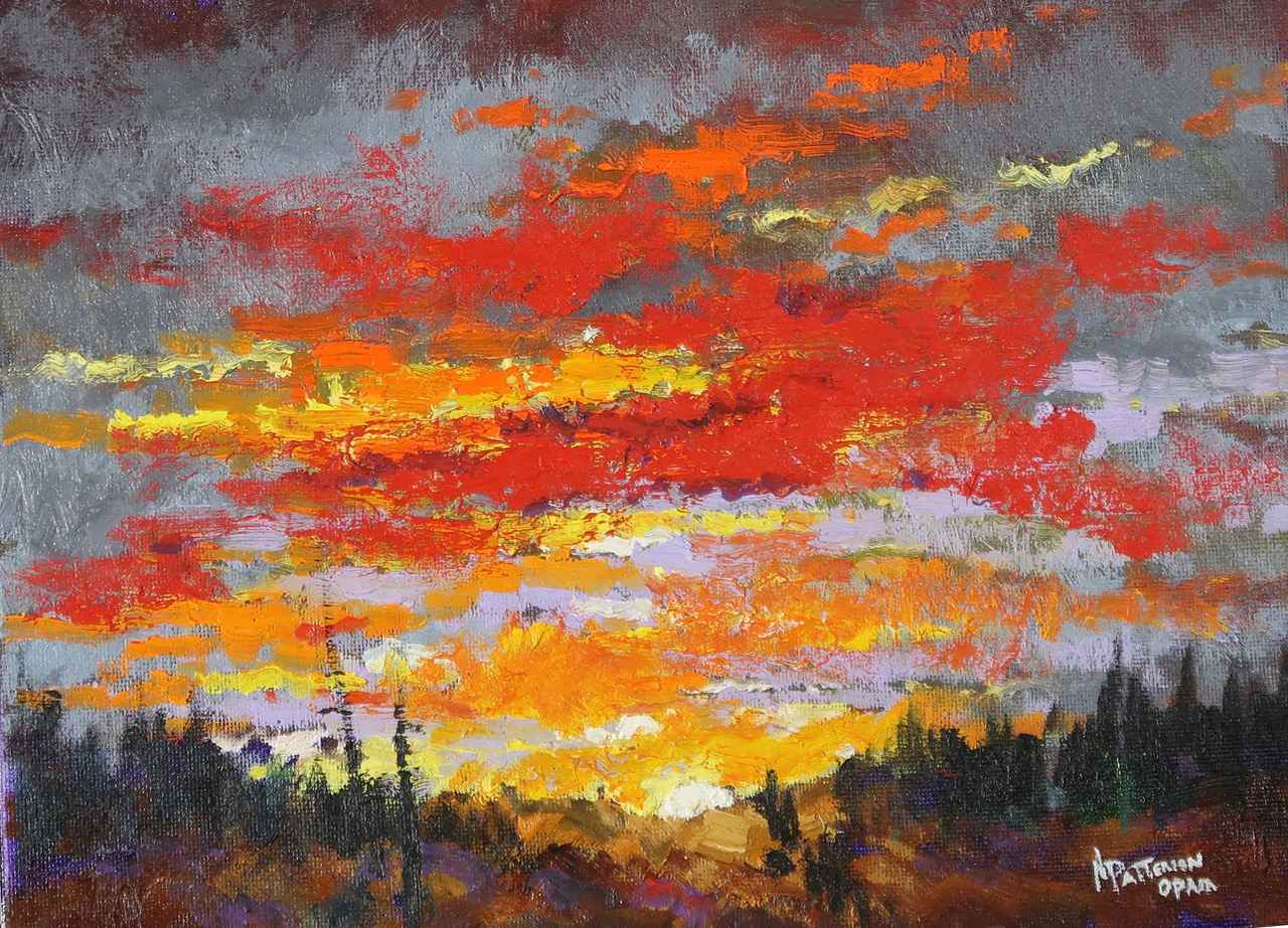 Sunset by  Neil Patterson - Masterpiece Online