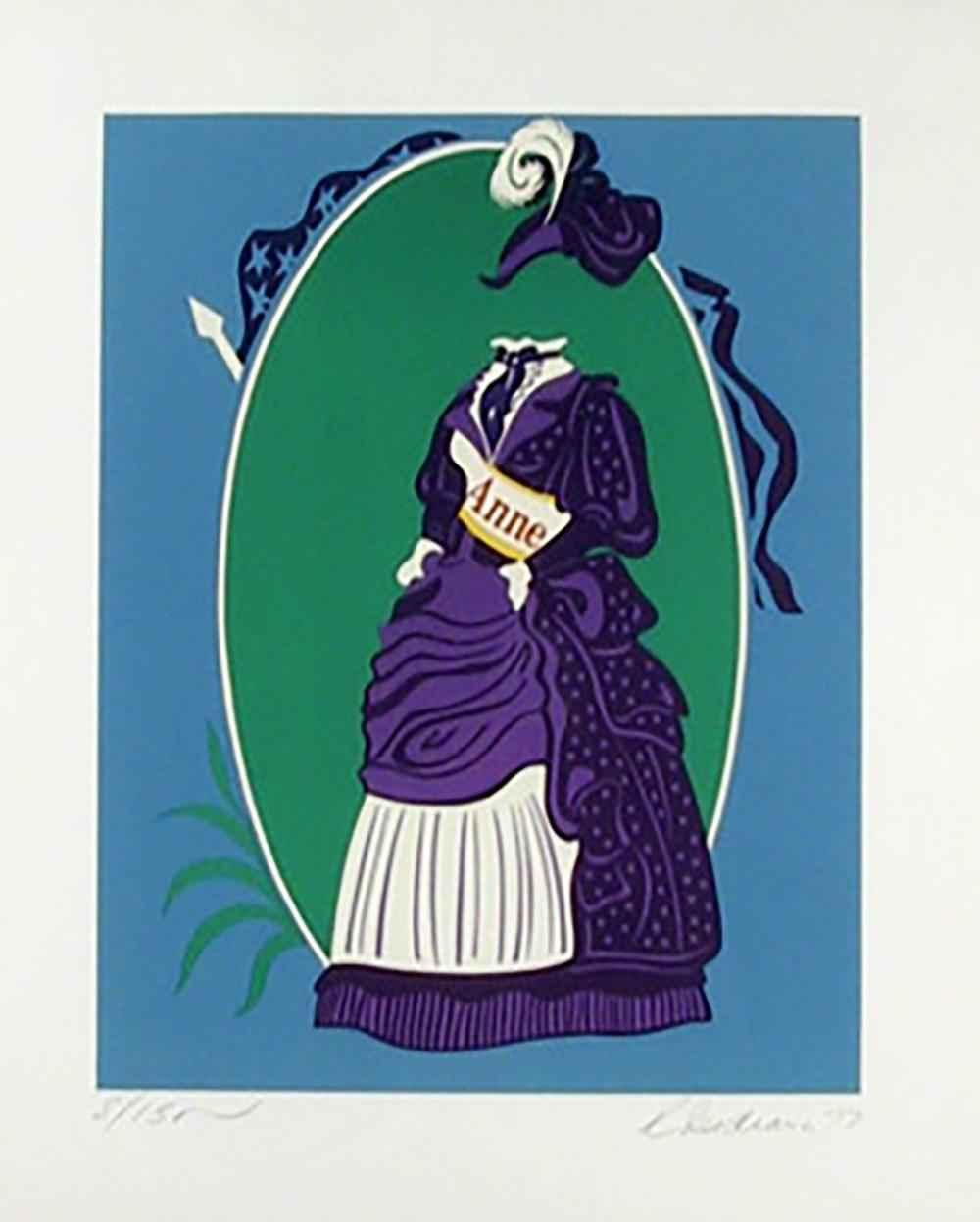 Anne, Suffragette Cos... by  Robert Indiana - Masterpiece Online