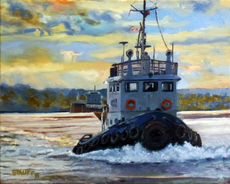 Tug, Cleveland by Mr. Daniel Stauff - Masterpiece Online